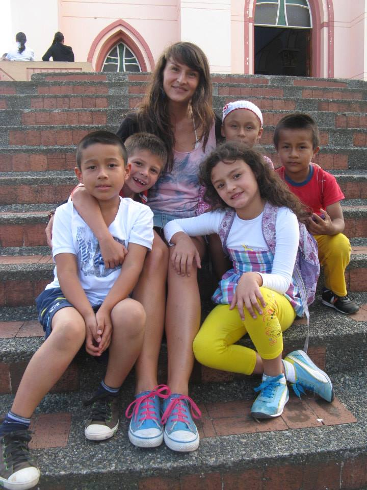 last English class with the children in Quinchia